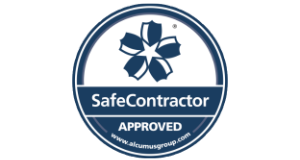safe contractor logo no background