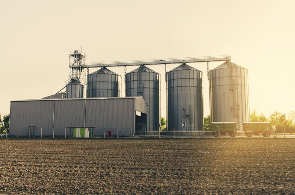 Grain storage unit