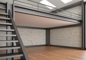 Steel mezzanine floor 1