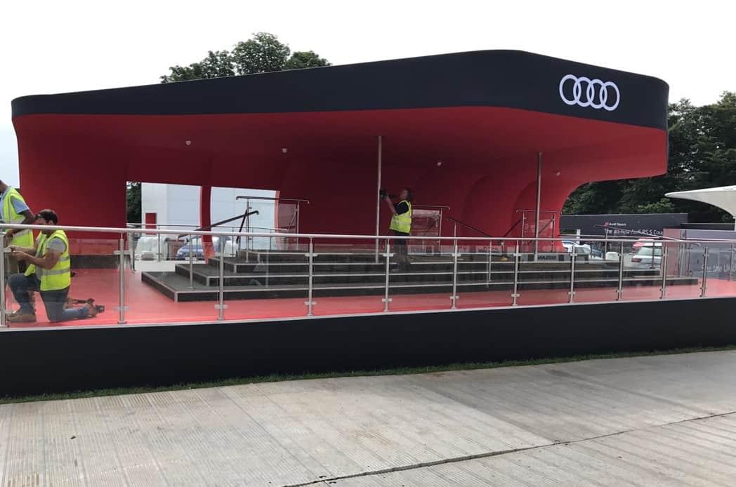 Audi Steel construction
