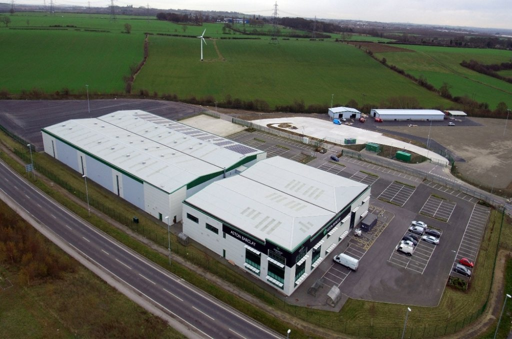 Barclay birds eye view structural steel