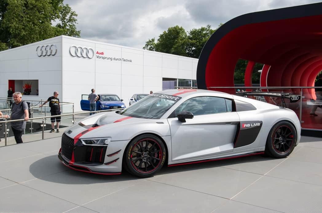 Finished Audi Garage