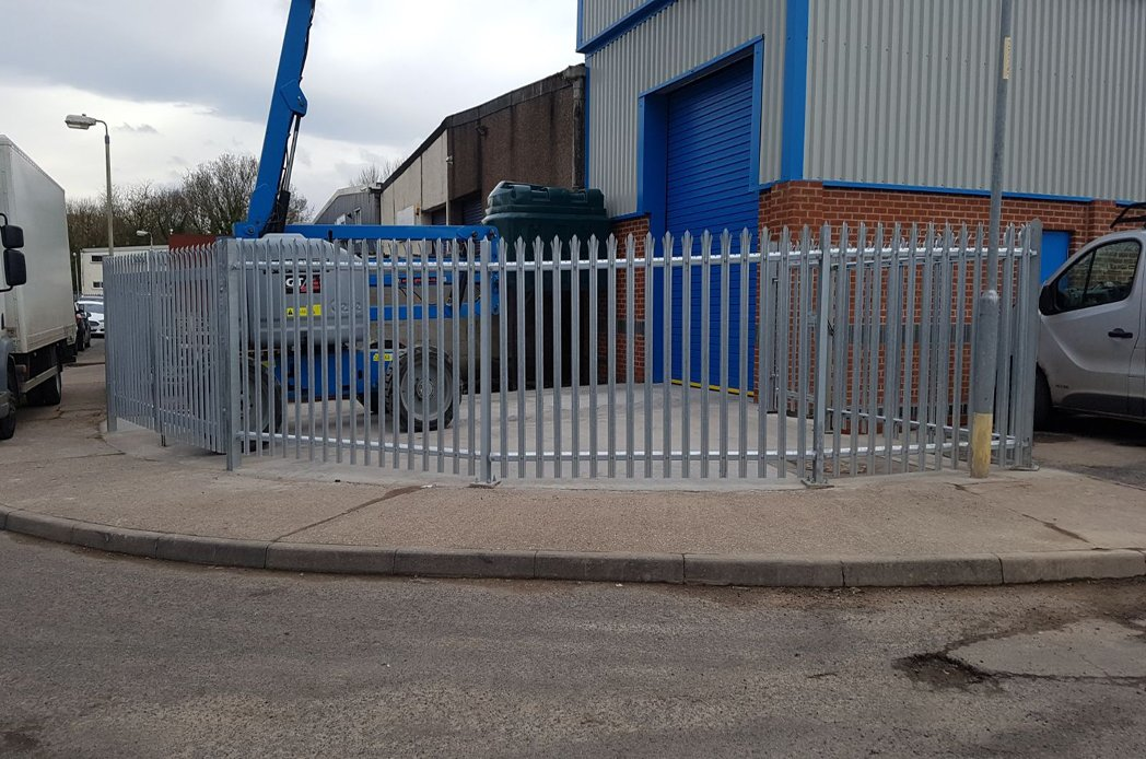 Metallic fence