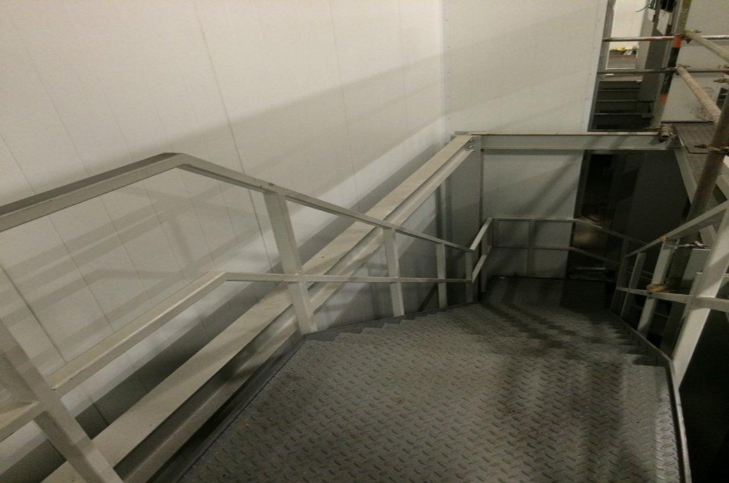 Purogenix Steel Metallic Stairs