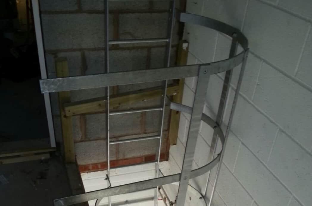 steel fire escape fabrication